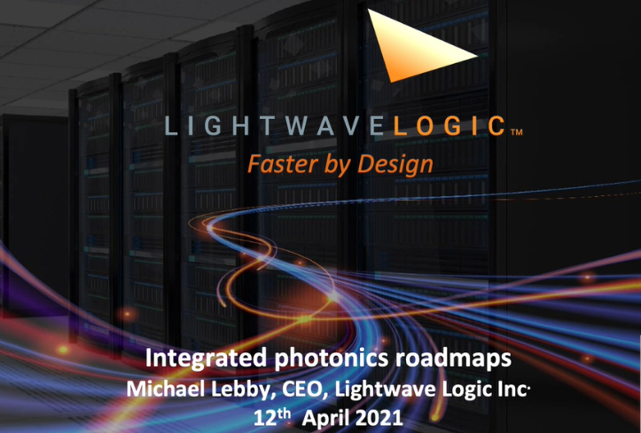 Video Presentation: Integrated Photonics Roadmaps